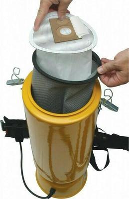 Dustless 2.5 Gal HEPA Back Pack Vacuum 15505