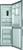 Hotpoint XH8 T2Z XOZH/1 Refrigerator