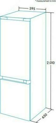 Edesa EFC-2033 NF Kühlschrank