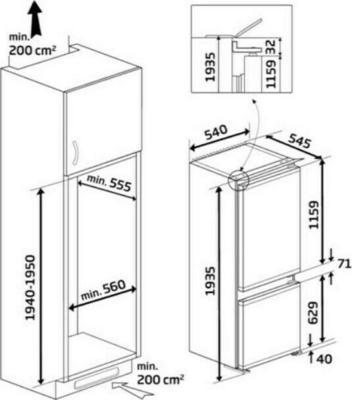 Beko BCHA306E2S Kühlschrank
