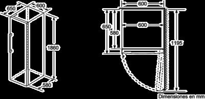 Bosch GSN36BW3P Gefrierschrank