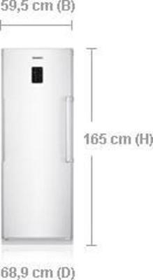 Samsung RZ60FJSW Gefrierschrank