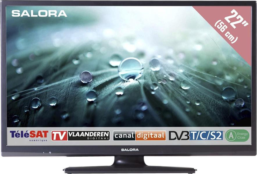 Salora 22LED9109CTS2DVD front on