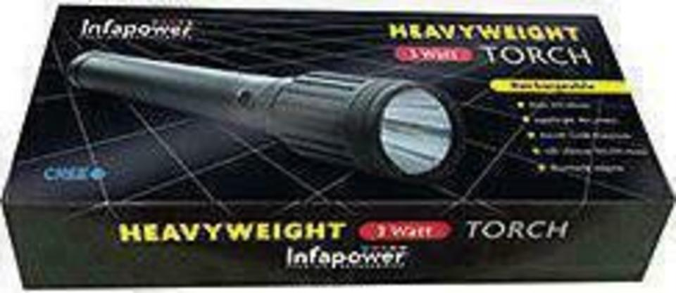 Infapower Rechargeable3 Watt Heavyweight Flashlight