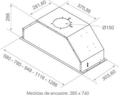 Pando Evo 8503 129cm