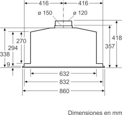 Balay 3BF859XP Range Hood