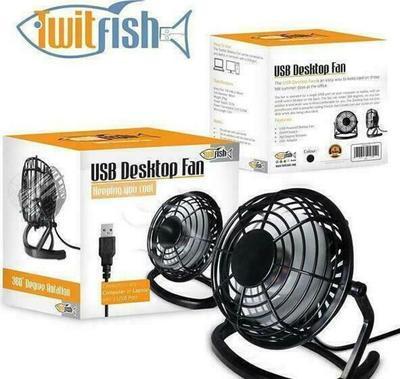 TwitFish USB Desktop Fan 10cm