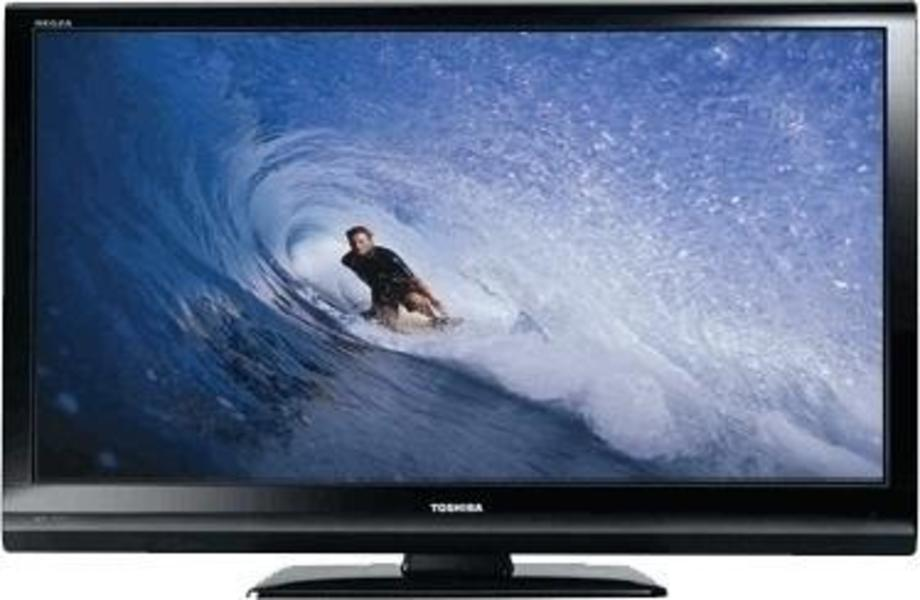 Toshiba 46RV555D front on