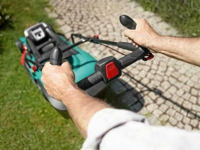 Bosch Rotak 43 Li Ergoflex Lawn Mower