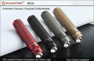 Sunwayman R01A Flashlight