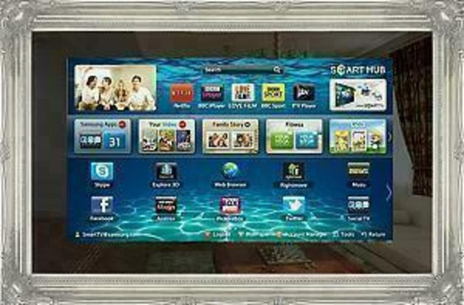 """PictureFrame.TV Mirror 48"""" UHD front on"""
