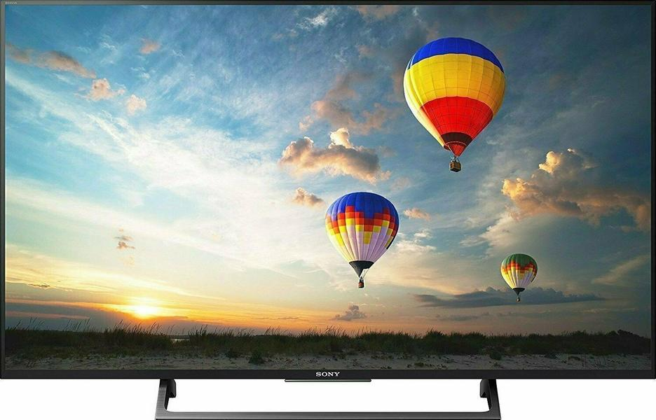 Sony Bravia KD-49XE8005 front on