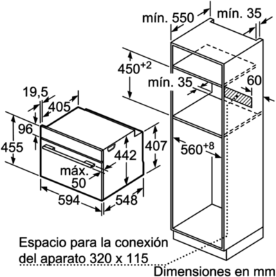 Balay 3CB5351A0 Wall Oven