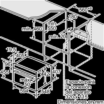 Balay 3CB5351N0 Wall Oven