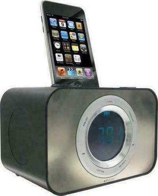 KitSound Clock Dock Wireless Speaker