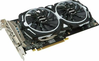 MSI Radeon RX 580 ARMOR 8G OC Graphics Card