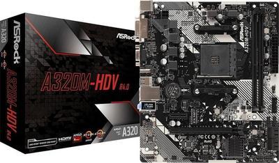 ASRock A320M-HDV R4.0 Motherboard