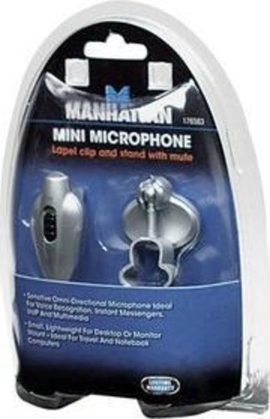 Manhattan 176583 Mikrofon