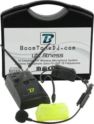 BoomTone DJ UHF FITNESS
