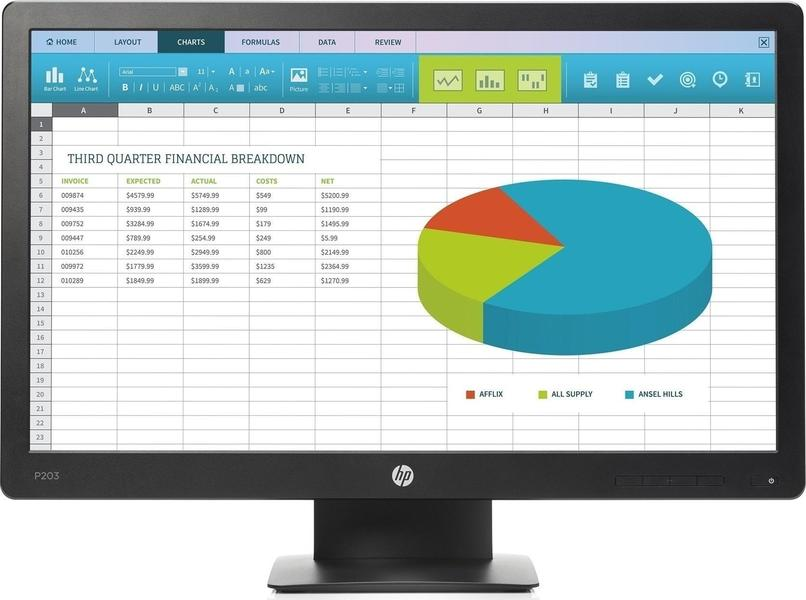 HP ProDisplay P203 Monitor