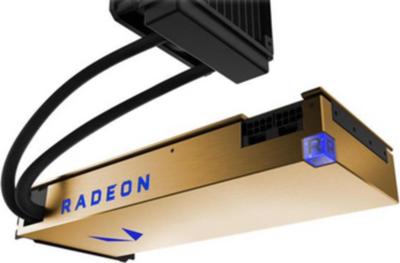 AMD ATI Radeon Vega Frontier Liquid Graphics Card