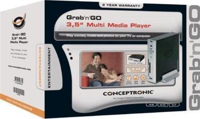 """Conceptronic Grab'n'GO Harddisk to TV Media Player Plus 3.5"""" 500 GB Odtwarzacz multimedialny"""