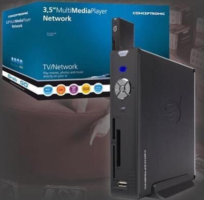"""Conceptronic 3,5"""" Multi Media Player Network 500GB Odtwarzacz multimedialny"""