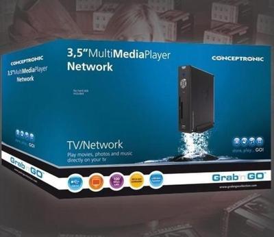 """Conceptronic 3,5"""" Multi Media Player Network 750GB Odtwarzacz multimedialny"""