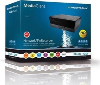 Conceptronic Media Giant 500GB Multimediaplayer
