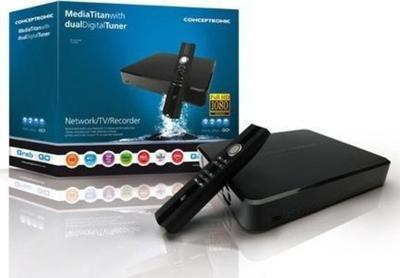 Conceptronic Media Titan Dual Digital Tuner 500GB Odtwarzacz multimedialny