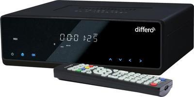Differo Sigma 500 GB Odtwarzacz multimedialny