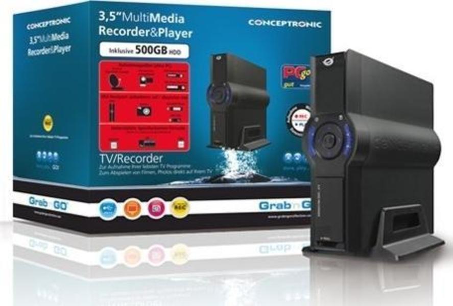 Conceptronic Multi Media Recorder&Player