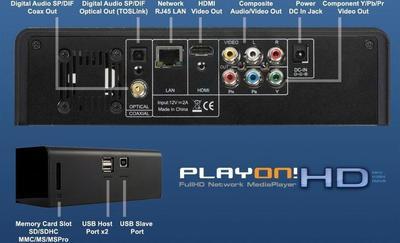 AC Ryan PlayON! HD 1TB Digital Media Player