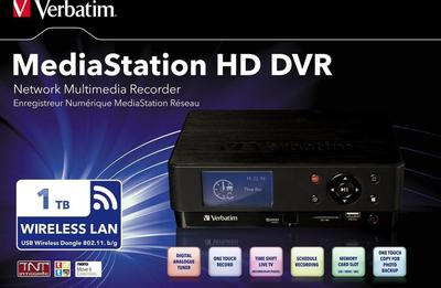 Verbatim MediaStation HD DVR 1TB Multimediaplayer