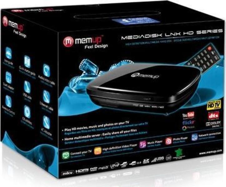 Memup MediaDisk LNX HD 500GB