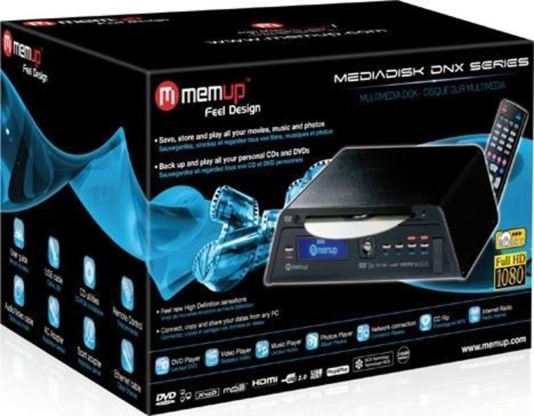 Memup MediaDisk DNX 500GB