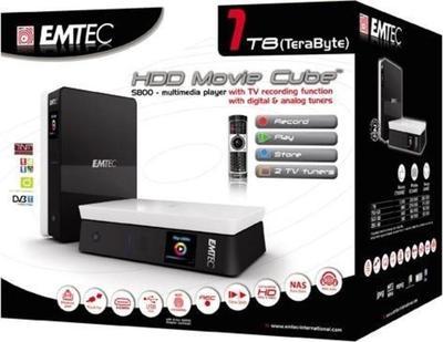 Emtec Movie Cube S800 Odtwarzacz multimedialny