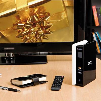 Emtec Movie Cube S800H WiFi 1.5TB Odtwarzacz multimedialny