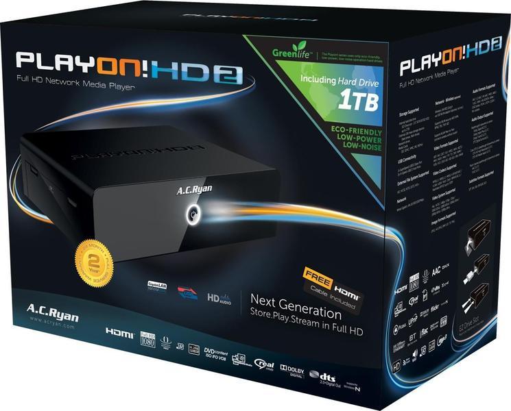 AC Ryan PlayON! HD2 1.5TB
