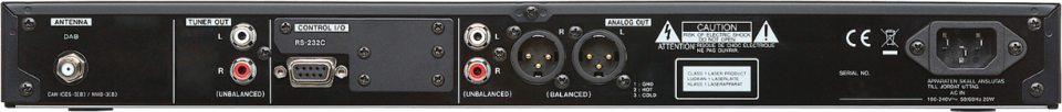 Tascam Player CD-400U DAB
