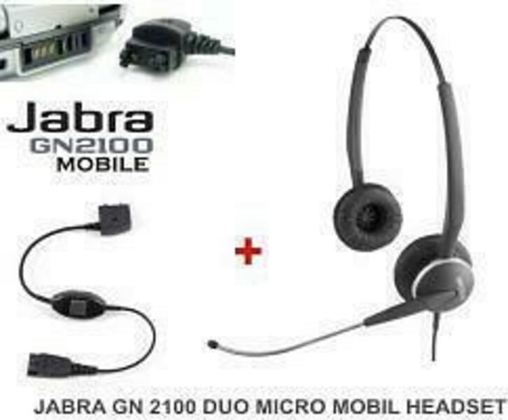 Jabra GN 2100 Micro-Boom Duo