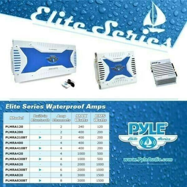 Pyle PLMRA630BT