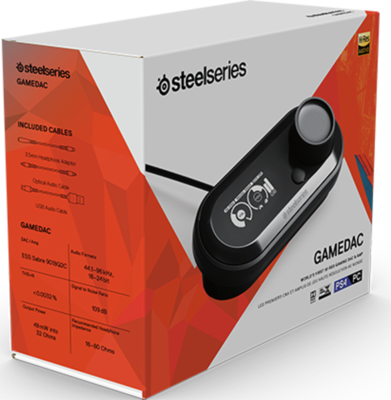 SteelSeries GameDAC Audio Amplifier