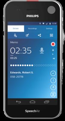 Philips SpeechAir Smart Voice PSP1100 Dyktafon