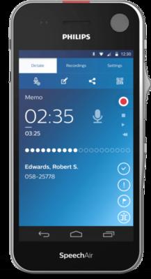 Philips SpeechAir Smart Voice PSP2200 Dyktafon
