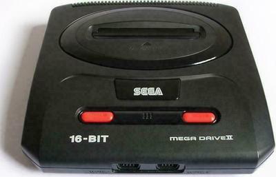Sega Mega Drive II Game Console
