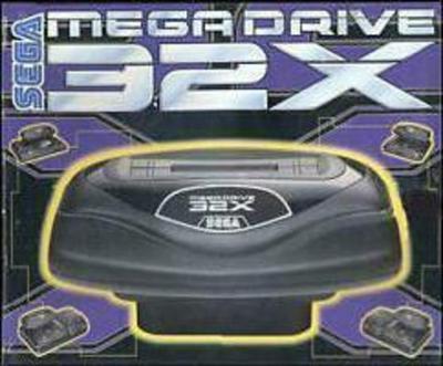 Sega Mega Drive 32X Game Console