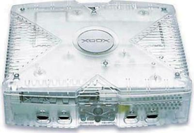 Microsoft Xbox - Crystal Edition Game Console