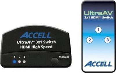 Accell 3x1 HDMI 1.3 Audio/Video Switch