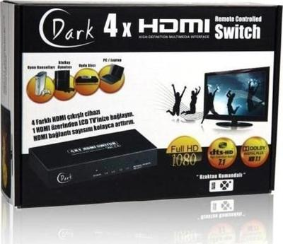 Dark 4x1 HDMI Switch